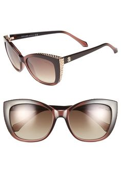ec7970f7e1e Roberto Cavalli  RC888S  54mm Cat Eye Sunglasses available at  Nordstrom  Cat Eye Sunglasses