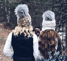 Baby, it's cold outside (so we're accessorizing with adorable handmade caps. Stop by to get yours)  ❄️❄️ #TwiggsSalon #hairbydavid