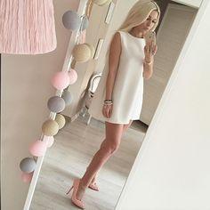 #blondepower #whitedress #małabiała #instablog #mirabelove #lafant #blogger