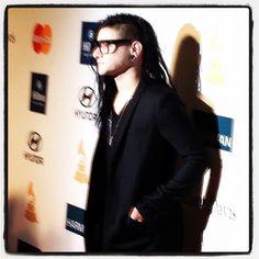 Skrillex arriving at the Pre-GRAMMY Gala - @thegrammys | Webstagram