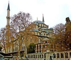 Fatih Mosque, Fatih Complex, 1463-71,  rebuilt 1767, Istanbul, Turkey