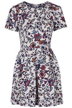 Flower Skater Dress @gtl_clothing #getthelook http://gtl.clothing