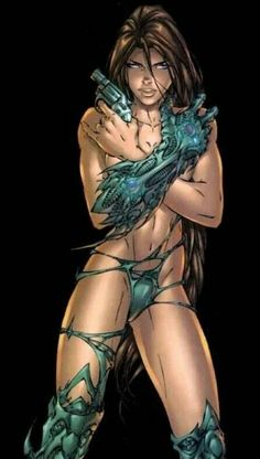 Witchblade by Michael Turner