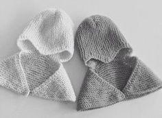 Anoppi on töissä keskosten teho-osastolla. Hän näytti minulle myssyä, jota käytetään keskosilla kenguruhoidossa. Myssyssä on kaulus joka läm... Baby Hats Knitting, Knitting For Kids, Knitted Hats, Baby Girl Dresses, Handicraft, Knit Crochet, Winter Hats, Children, Crafts