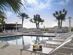 The Grand Beach Hotel Surfside West At This Bal Harbour Has It S Own Private Rooftop Pools Jacuzzis Overlooking Miami Skyline