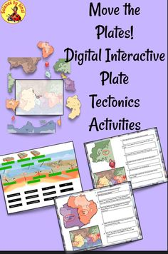 Earth Science Activities, Science Resources, Learning Resources, Teacher Resources, Teaching Ideas, Science Notebooks, Interactive Notebooks, Science Clipart, Science Classroom Decorations