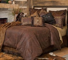 Western style decor for-the-home Red Bedding Sets, Queen Bedding Sets, Luxury Bedding Sets, Comforter Sets, King Comforter, Plum Bedding, Gray Comforter, Coverlet Bedding, Linen Bedding