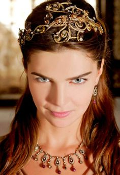 Head piece of Mihrimah in the movie Magnificent Century