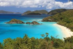 St. John, U.S. Virgin Islands | The smallest and least developed of the U.S. Virgin Islands (with two-thirds of its land designated a national park), St. John is practically an unspoiled haven. Explore vivid coral reefs on a dive along Eagle Shoals or retreatto private Jumby Bay for the ultimate relaxation. Land lovers will enjoy exploring thetropical countryside on horseback – St. John's sole means of transportation until the 1950s.
