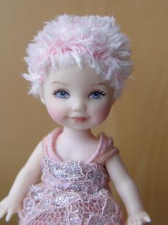 One of a Kind Kelly with wig (OOAK)by Tabloach Productions