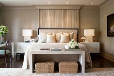 Powell and Bonnell Modern Contemporary Homes, Luxury Interior Design, Luxury Real Estate, Room Inspiration, Bedrooms, Bedroom Decor, Hgtv, Mauve, Toronto