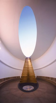 James Turrell, East Portal from Roden Crater Project, 1979– . Site-specific installation, Flagstaff, Arizona. Day view © James Turrell. Photo: © Florian Holzherr