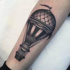 Risultati immagini per aerostatic balloon tattoo