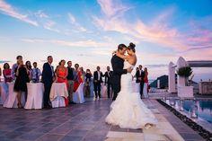 First dance | Wedding at Rocabella Santorini