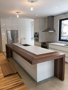 Luxury Kitchen Fabulous Interior Design For Small Kitchen 01 - Related Beautiful Kitchen Designs, Contemporary Kitchen Design, Best Kitchen Designs, Beautiful Kitchens, Contemporary Apartment, White Kitchen Designs, Contemporary Wallpaper, Contemporary Office, Contemporary Bedroom