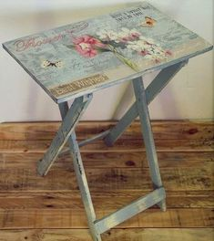 Decoupage Furniture From The Internet . Discussion On LiveInternet    Russian Service Online Diary