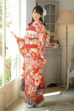 SKE48 member Rena Matsui in kimono.