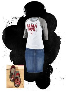 """""""Roll tide"""" by samantha-lawler ❤ liked on Polyvore"""