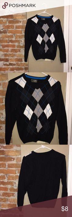 Argyle sweater size medium Sweater size medium in excellent condition Macy's Sweaters V-Necks