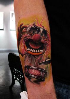 tattoo Animal - Muppets