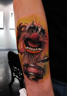 tattoo Animal - Muppets