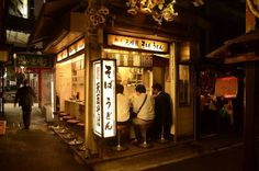 Top Hidden Spots for Drinking and Eating in Tokyo