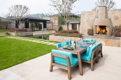 50 Garage Paint Ideas For Men - Masculine Wall Colors And Themes Outdoor Pavers, Concrete Patio, Concrete Crafts, Cool Deck, Outdoor Furniture Sets, Outdoor Decor, Outdoor Dining, Indoor Outdoor, Living Styles