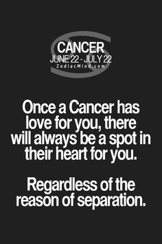 cancer zodiac mind quotes - Google Search