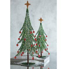 Beaded Christmas Tree Decorations | The Company Store