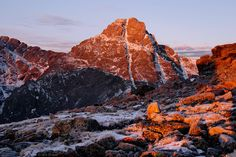 Mount of the Holy Cross, alpenglow, Vail, Sawatch Range, Colorado