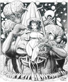 Retro Alien Love by Art Adants