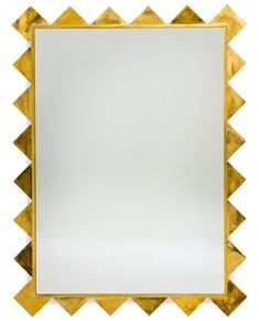 Buy The Sharks Tooth Mirror by Soane Britain - Made-to-Order designer Accessories from Dering Hall's collection of Mid-Century / Modern Mirrors.