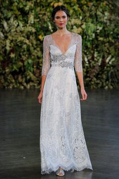 Pin for Later: 100+ Must-See Wedding Dresses From Bridal Fashion Week Autumn 2015 Claire Pettibone Bridal Autumn 2015