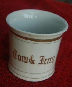 Vintage Tom & Jerry Punch Bowl Mug, Made in Japan