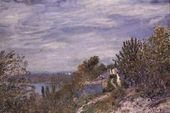 Path in the Gardens of By, May Morning, c.1891 - Alfred Sisley - www.alfredsisley.org