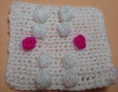 Punto bodoque o pop corn crochet