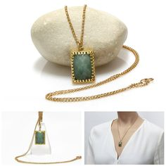 Tiny and beautiful necklace. #gemstone #handmade #necklace  #jewelry #jewellery #Xmas #handpickedclub @handpicked_club