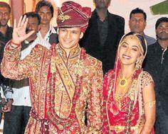 Vivek Oberoi and Priyanka