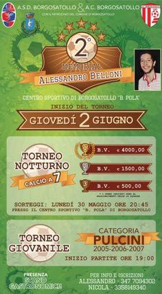 Torneo Memorial Alessandro Belloni a Borgosatollo http://www.panesalamina.com/2016/47633-torneo-memorial-alessandro-belloni-a-borgosatollo.html