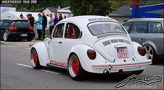German-look White VW 1303 Beetle by retromotoring, via Flickr