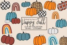 Download Happy Fall Clipart collection (988197) today! We have a huge range of Illustrations products available. Commercial License Included.