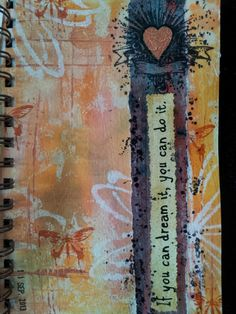Art Journal page | Esther Glas
