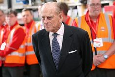 Prince Philip, Duke of Edinburgh meets postal workers at the royal engagement