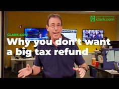 Rushing to file your return as soon as you can to get a big, fat refund check? Money expert Clark Howard says what you really need is a reality check. Clark Howard, Tax Refund, Dave Ramsey, Reality Check, Personal Finance, Wealth, Schedule, Saving Money, Investing
