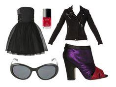 Strapless black dress by killershower