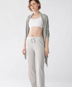 Humorvoll Neue Casual Pyjama Frauen Sleeveless V-ausschnitt Nachtwäsche Spitze Top Und Striped Lange Hosen Pyjamas Set Sommer Lose Nachtwäsche Damen-nachtwäsche