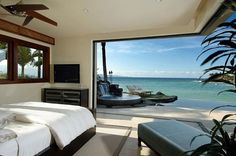 Modern Bedroom and Amazing Beach Views