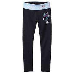 d4cf32b14fee7 Disney Frozen Elsa Fleece-Lined Yoga Leggings by Jumping Beans® - Girls 4-7