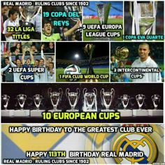 Happy 113th b'day Real Madrid #Halamadrid#