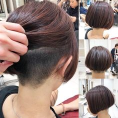 Shaggy Medium Length Bob - 60 Messy Bob Hairstyles for Your Trendy Casual Looks - The Trending Hairstyle Shaggy Bob Haircut, Messy Bob Hairstyles, Choppy Bob Hairstyles, Undercut Hairstyles, Trending Hairstyles, Short Hair Undercut, Short Hair Cuts, Short Hair Styles, Long Choppy Bobs